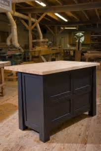 Custom Built Kitchen Island by Crafted Custom Kitchen Island By Against The Grain
