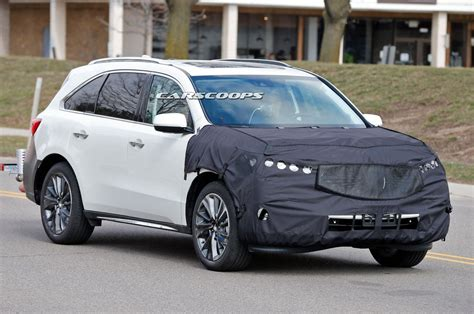 acura msx 2017 mdx facelift will be the beakless acura in years