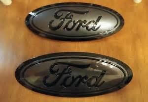 2015 16 ford f150 grill and tailgate emblem custom gloss