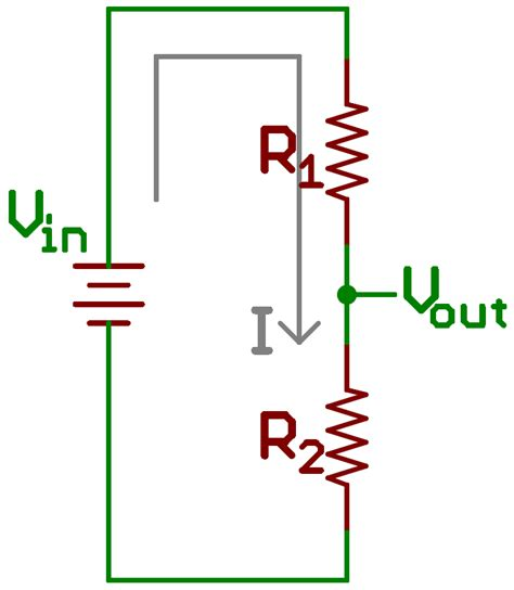 will resistor reduce voltage voltage dividers learn sparkfun