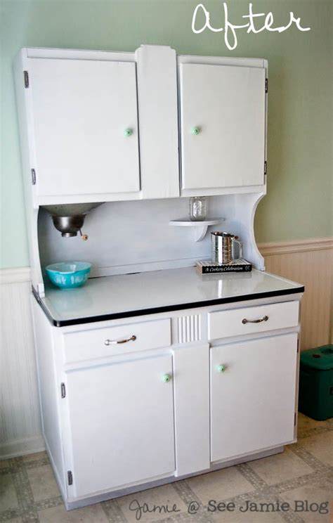 sellers kitchen cabinet history diy project sellers cabinet makeover see jamie blog