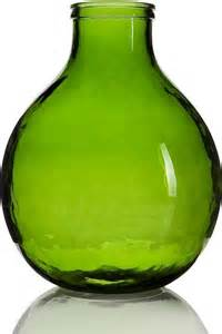 green vase garrafa green vase small contemporary vases by