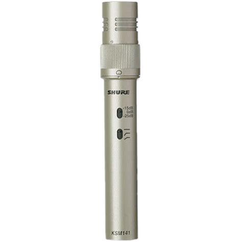 Mic Condensor Shure Ksm 888 shure ksm141 sl condenser microphone ksm141 sl b h photo