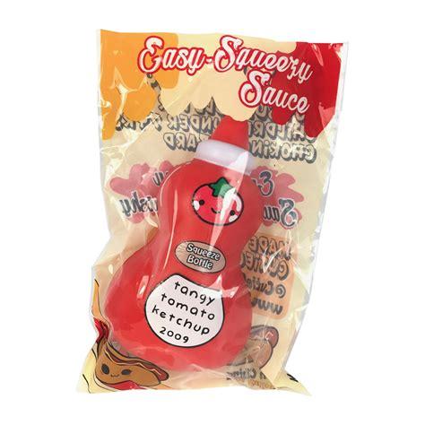 Squishy Licensed Cutie Creative Colorfull Marshmellow Original rise cutie creative easy squeezy sauce bottle