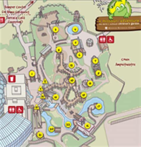map missouri botanical garden doris i schnuck children s garden