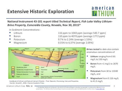 American Lithium Investor Presentation June 2016