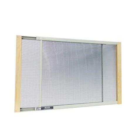 w b marvin 25 in 45 in adjustable window filter with