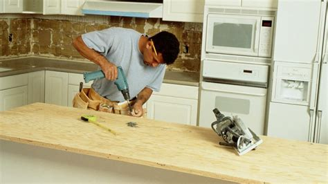 How To Build A Kitchen Counter by What Are The Steps To Building A Kitchen Counter Bar