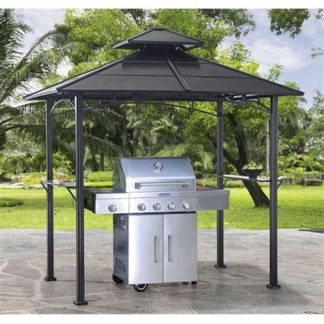 hardtop grill gazebo sunjoy hardtop gazebos pergola gazebo ideas