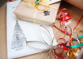 wrapping gifts without wrapping paper simple gift wrapping ideas with shells pine cones