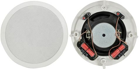 Speaker Coil adastra ceiling subwoofer speaker 8inch dual coil 80w