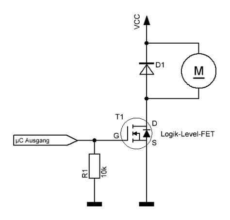 transistor gate widerstand unverst 228 dnis n mos fet mikrocontroller net