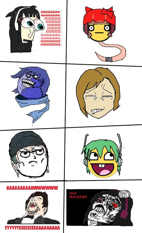 Vocaloid Memes - vocaloid in meme faces part 3 by waraulol on deviantart