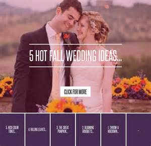 5 Posts To Blogstalk by 5 Fall Wedding Ideas Lifestyle