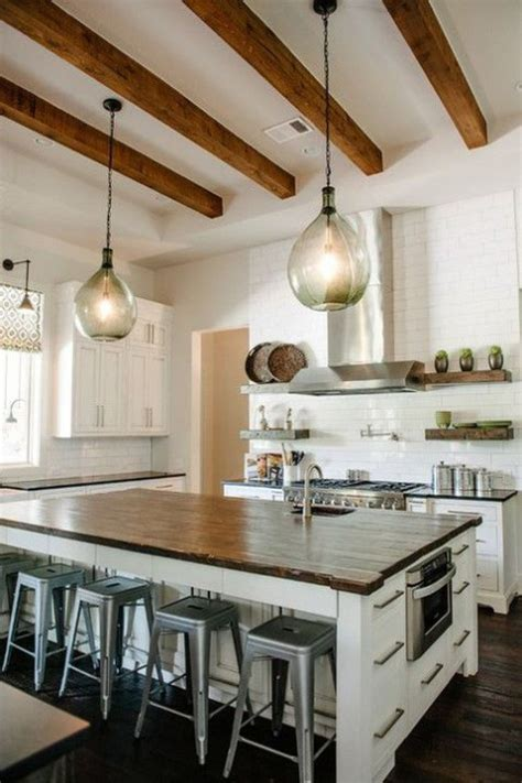 Kitchen Ceilings With Beams by Kitchen Designs With Wooden Beams Comfydwelling