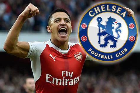 chelsea alexis sanchez arsenal transfer news 6 april 2017