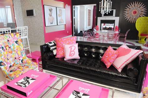 barbie living room barbie living room black pink for the home pinterest