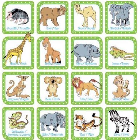 imagenes de zoologico en ingles zoo animals los animales del zoo edicion impresa abc