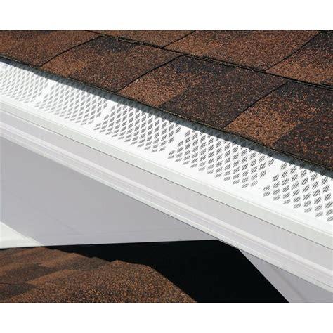 Amerimax Traditional Vinyl Gutter Installation - 5 in white aluminum gutter home depot insured by ross