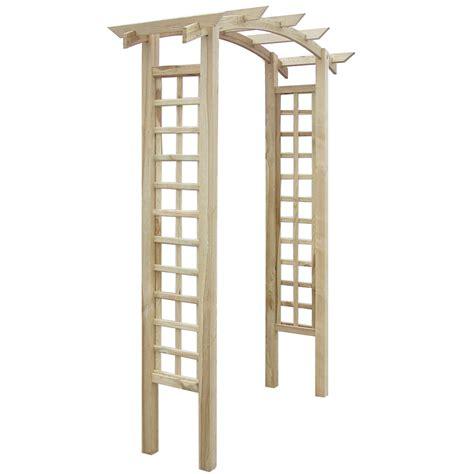 Wood Trellis vidaxl co uk trellis arch 150 x 50 x 220 cm wood