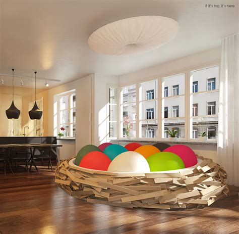 nest bed the giant birdsnest bed evolves into a formidable piece of