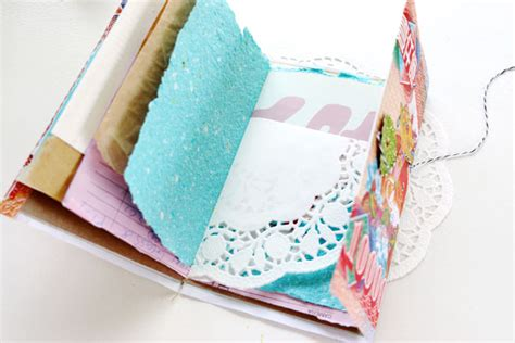 What Can You Make Out Of Recycled Paper - make a notebook from scrap paper my poppet makes