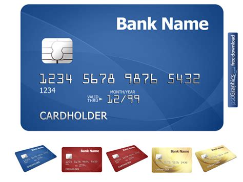 Free Psd Credit Card Template by Credit Card Template Psdgraphics