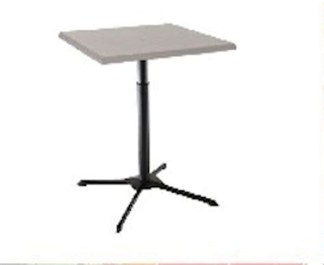 Lifetime Bistro Table Lifetime Bistro Table 80055 27 Inch White Adjustable Height Cafe Table