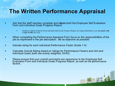 Mba Appraisal Services Inc by Performance Appraisals Hr Ppt Mba