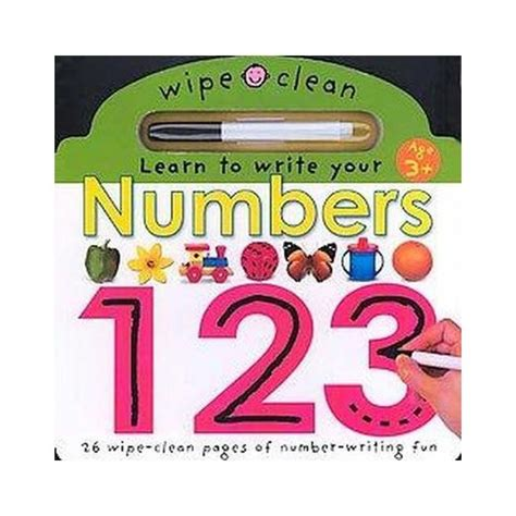Write On Hardcover learn to write your numbers hardcover target