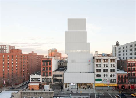 art design new york museum new museum of contemporary art by sanaa in new york united