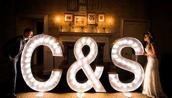 hire lights for wedding illuminated letter hire wedding letter hire