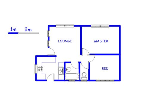 two bedroom house map two bedroom house plans in south africa