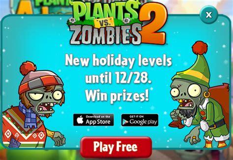 imagenes de plantas vs zombies navidad kiosko gamer navidad en plantas vs zombies 2