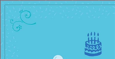 birthday card layout design create a fun children s birthday invite in illustrator