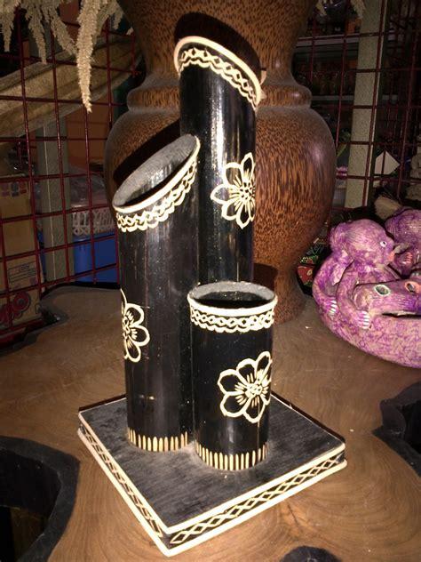 cara membuat kerajinan tangan vas bunga dari bambu kerajinan tangan dari bambu puluhan ide kreatif menghias