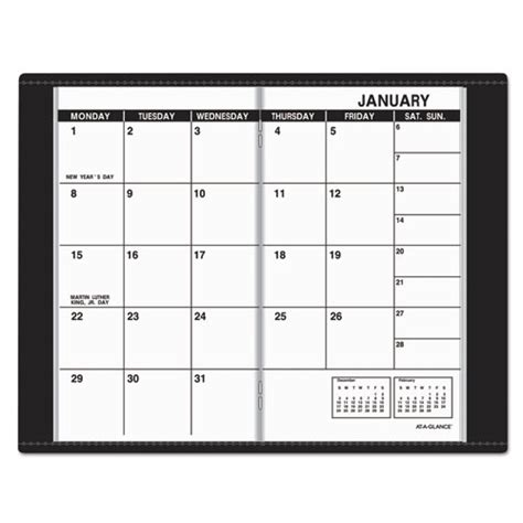 2018 2019 two year monthly pocket planner 24 month calendar 4 0 x 6 5 books pocket size monthly planner 3 1 2 x 6 1 8 white 2018