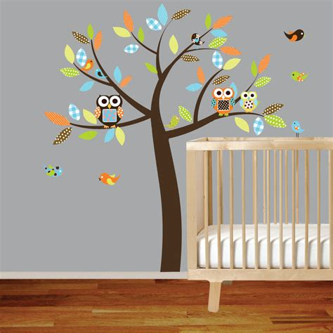 Nursery Wall Mural Decals Nursery Wall Decals Modern Home Interiors