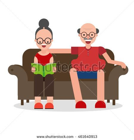 cartoon sitting on couch stock images royalty free images vectors shutterstock