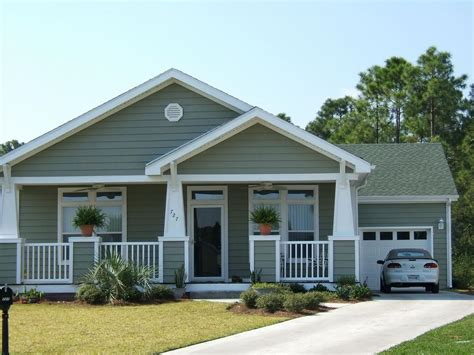 bungalow modular homes bungalow with porch from palm harbor homes in brooksville