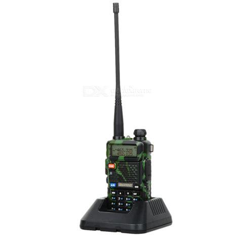 baofeng bf uv5r 1 5 quot lcd 5w 128 ch uv dual band walkie