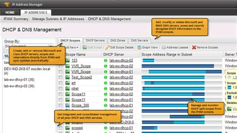 software ip ip address manager