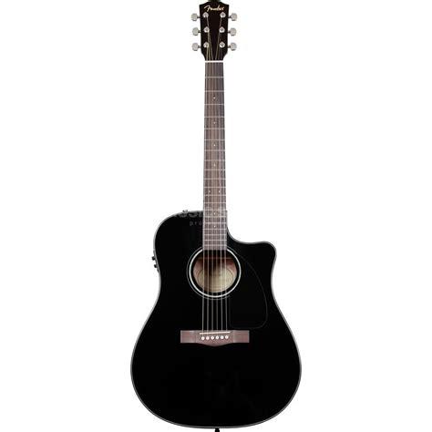 Li Gitar Fender Chion 40 fender cd 60ce electro acoustic guita r black