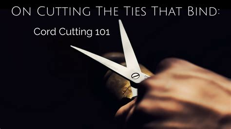 can my husband cut the cord in a c section on cutting the ties that bind cord cutting 101