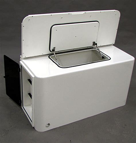 fiberglass boat livewell custom consoles manufactured with tackle centers tackle