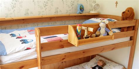 Shelf For Bunk Bed Bed Hanging Toys Shelf Bamboo Children S Furniture