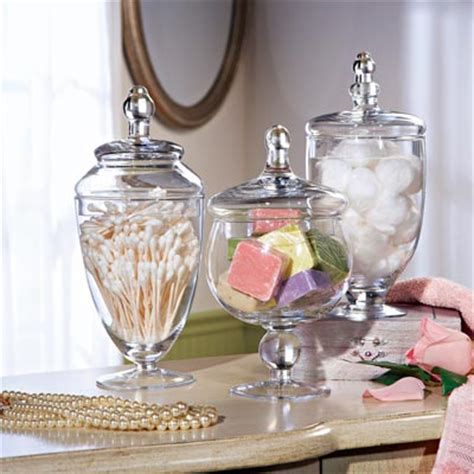 bathroom apothecary jar set collections etc find unique online gifts at