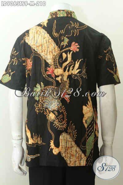 Baju Batik Terbaru Lengan Pendek Ukuran M Motif Bunga harga baju batik pria terbaru hem batik elegan lengan
