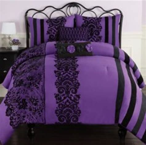 Purple Bed Sets bedding check out other gallery of black and purple bedding sets
