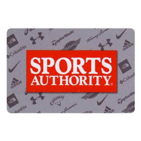 50 sports authority gift card only 40 mybargainbuddy com - Sport Authority Gift Card